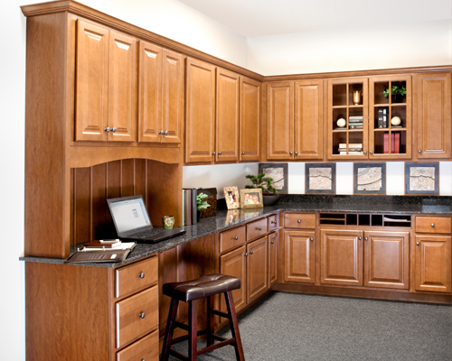 wolf-classic-cabinets--saginaw-in-chestnut-kitchen-cabinet