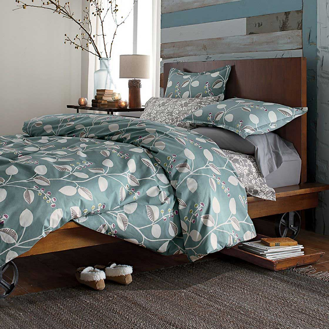 Organic Bedding Options-The-Company-Store-Organic-Bedding-in-Blue