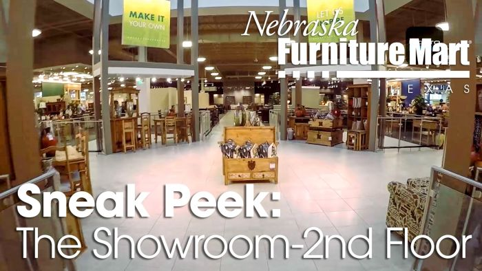 2nd Floor Nebraska Furniture Mart Texas Showroom
