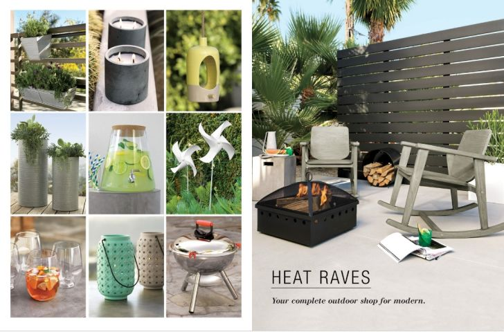 CB2 Outdoor Furniture Heat  Raves Outdoor Fireplace