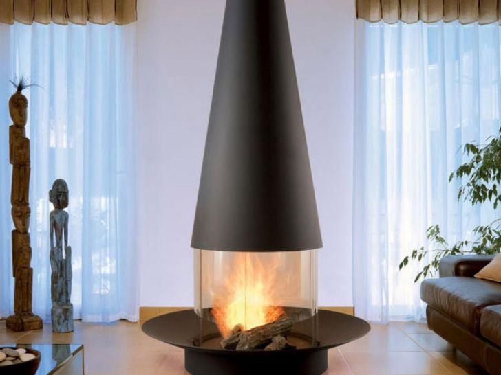 Modern Convenient Malm Gas Fireplace