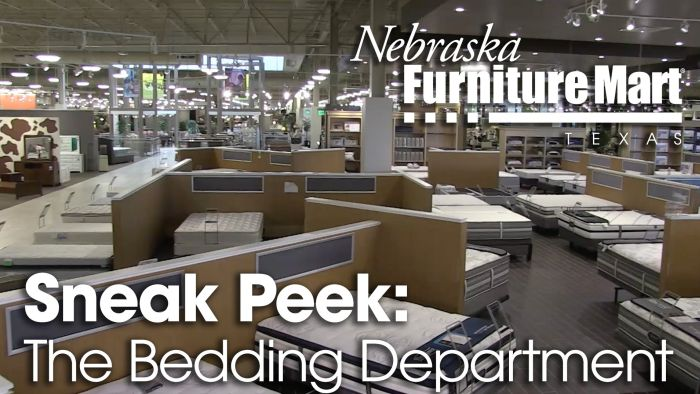 Nebraska Furniture Mart Texas Bedding Department