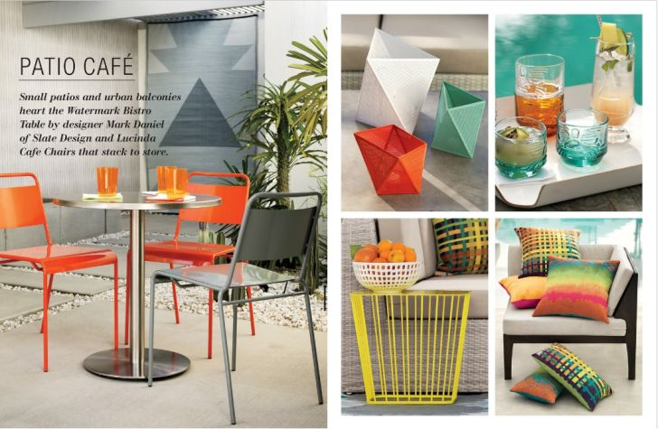 CB2 Outdoor Furniture Patio Cafe Accessories Set for CB2 Outdoor Furnitre
