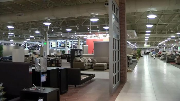 Set for North Texas Nebraska Furniture Mart