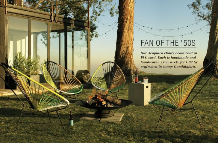 CB2 Outdoor Furniture Fan of The 50's Classic Furniture