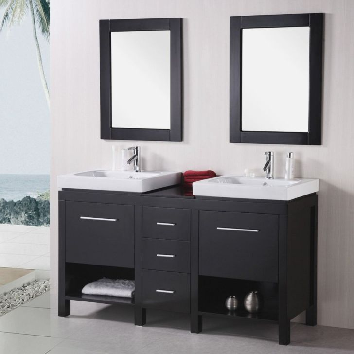 Costco Bathroom Vanities - Costco Bathroom 30 Vanities with Double Square Sink and Storage