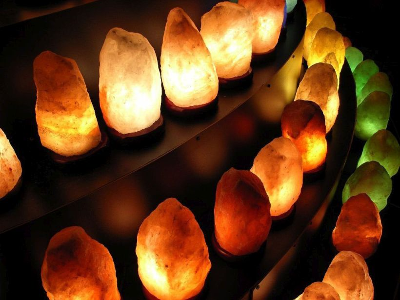 Beautiful Himalayan Salt Lamp Accessories