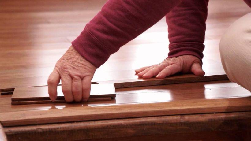 Morning Star Tiger Hill Bamboo Flooring Installation