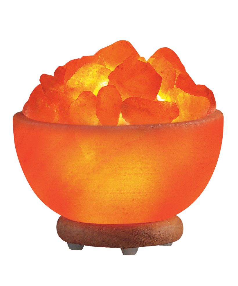 Orange Himalayan Salt Lamp Bowls