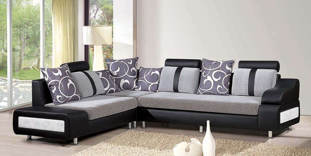 ultra modern living room furniture sets for sale with floral cushion and brown rug