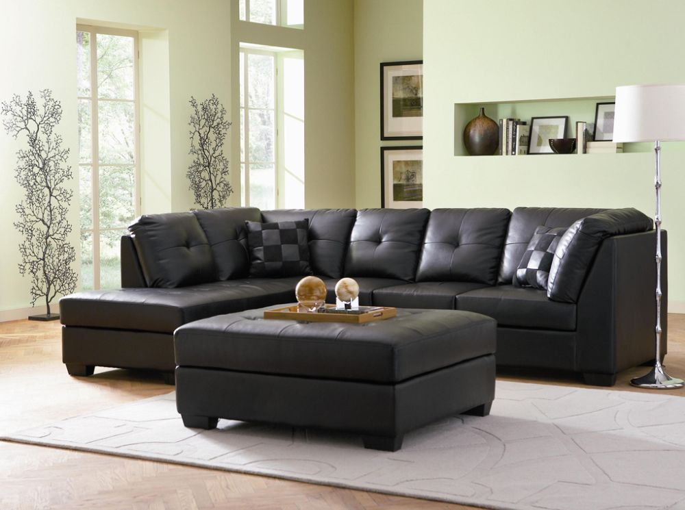 dark brown leather sectional sofa with floor lamp remarkable sectional sofas inducing elegance and warmth in houston homes