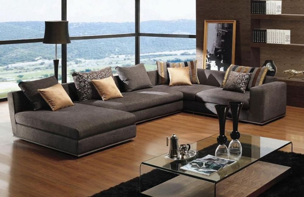 sleeper sectionals for small rooms in brown colors stylish sectional sofas that work optimally for small spaces