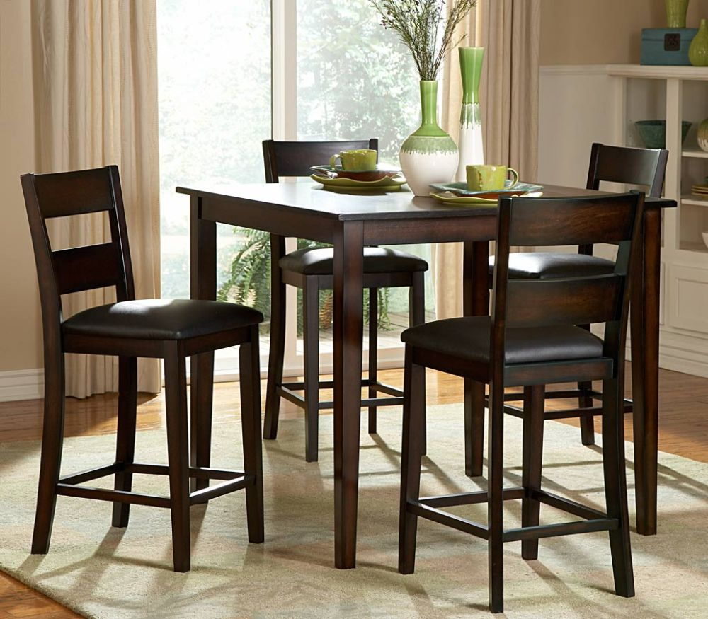 admirable tall dining table with natural lighting and tall dining chairs with glossy leather cushions mesmerizing tall dining room tables as focal points