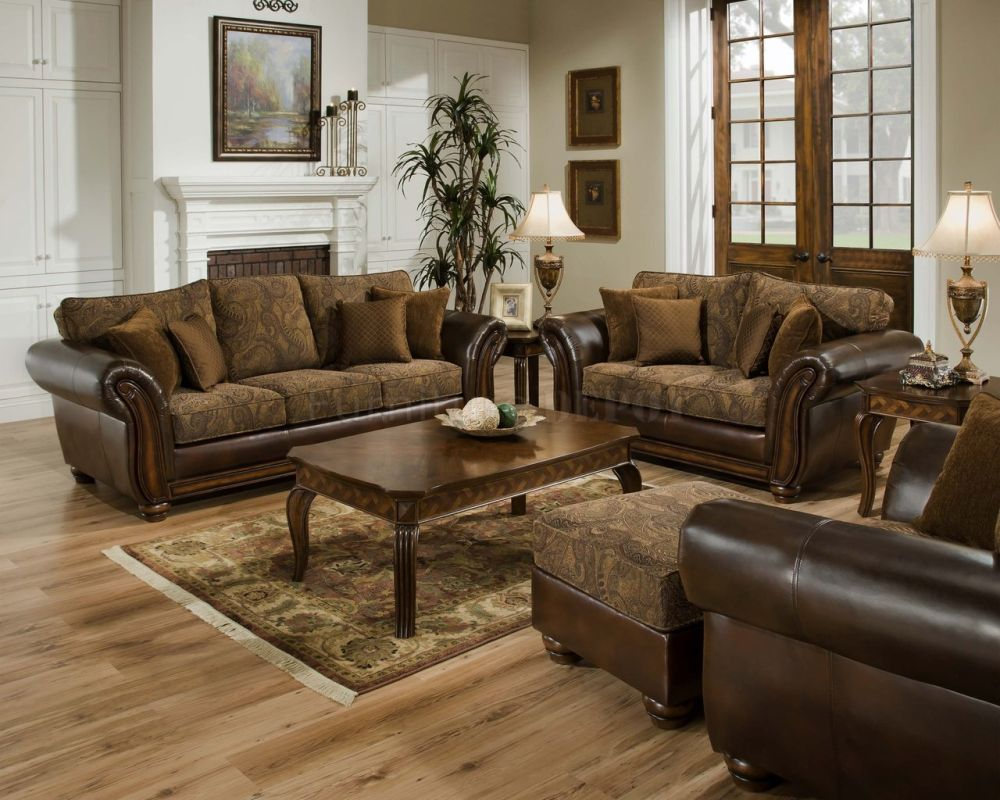 classic brown leather sofa design with big loveseat sofa and loveseat sets present perfect details for every interior