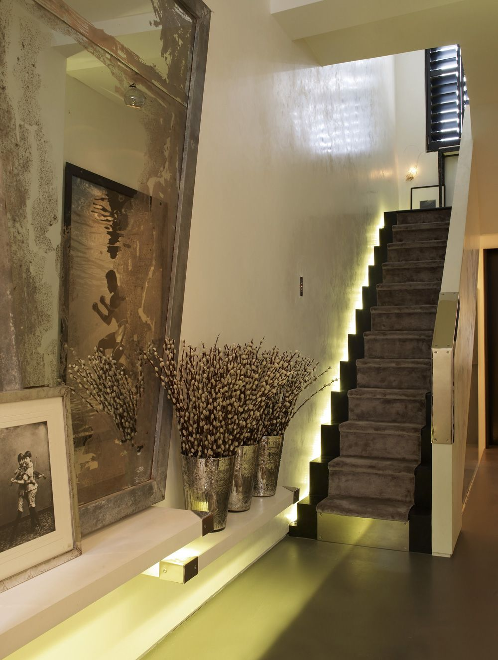 cutting edge stair wall lighting from led light with fluorescent character stunning stairwell lighting ideas for awesome staircase outlook