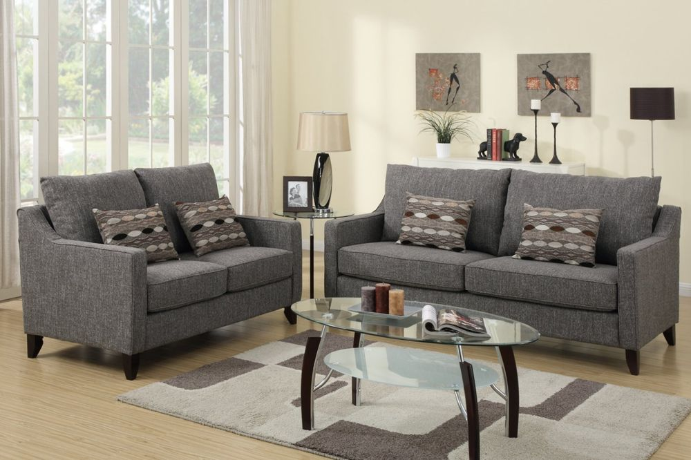 Grey Microfiber Reclining Sofa and Loveseat Sets Sofa and Loveseat Sets Present Perfect Details for Every Interior
