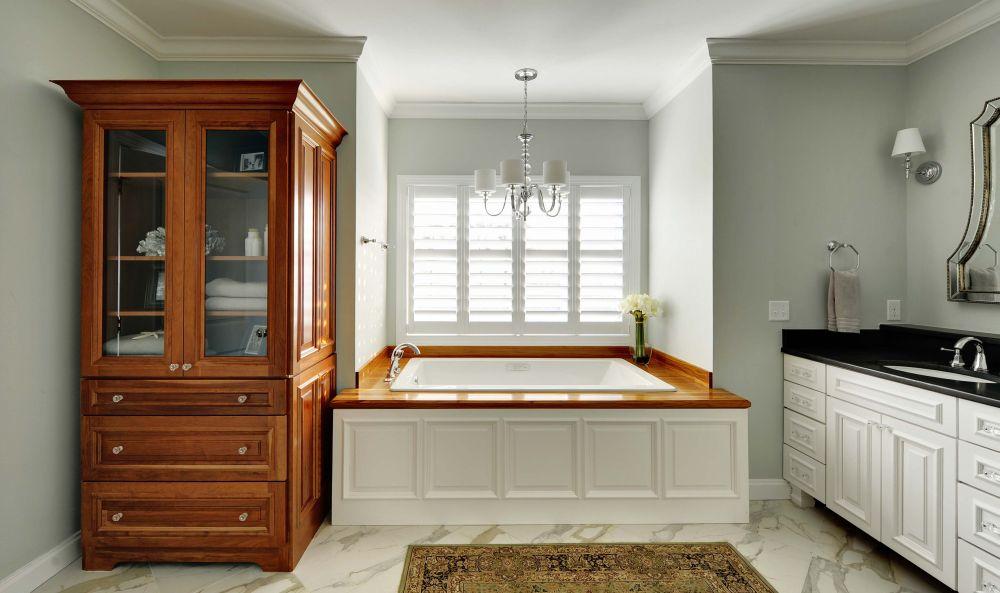 opulent victorian bathroom with drop in bathtub and bathroom cupboard remarkable teak bathroom furniture