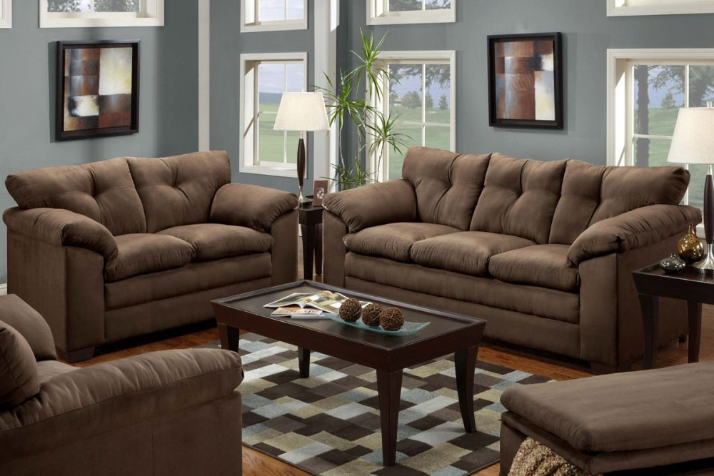 sofa and loveseat brown leather sets sofa and loveseat sets present perfect details for every interior