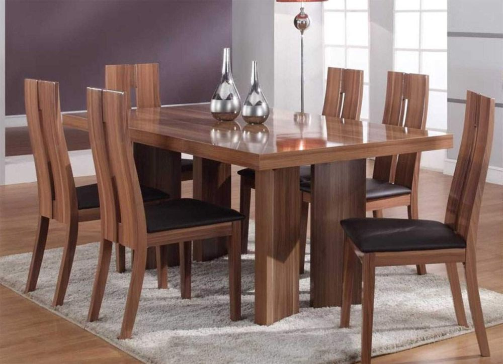 Trendy solid wood furniture sets very stylish and also for Trendy dining room furniture
