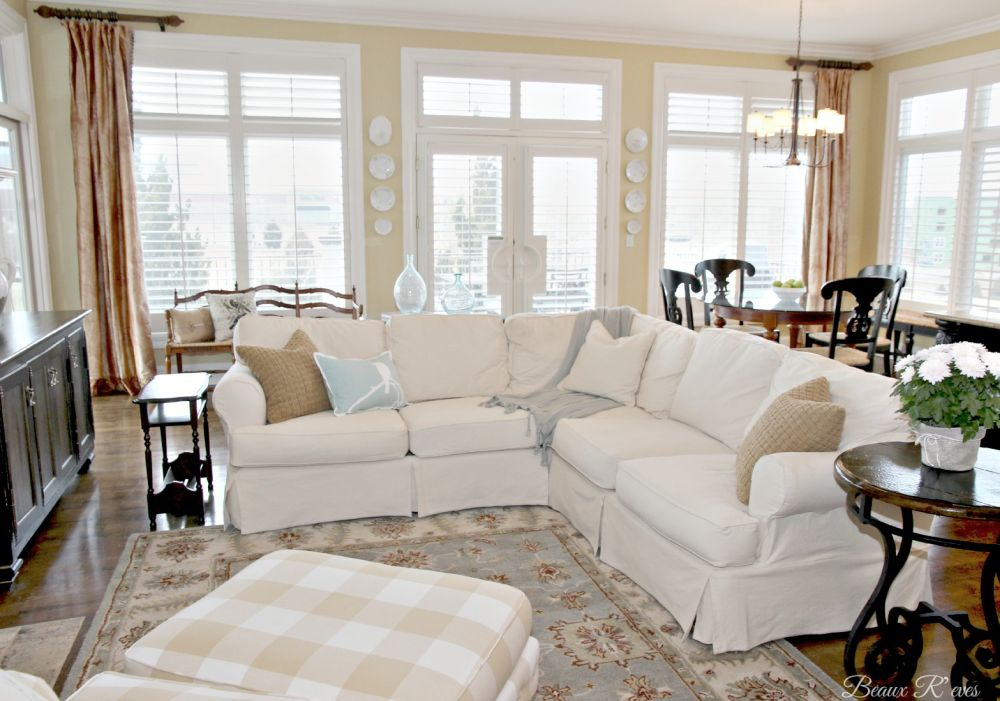 white l-shaped slip covered sectional sofa washable slip covered sectional sofa design with some tips to choose colors