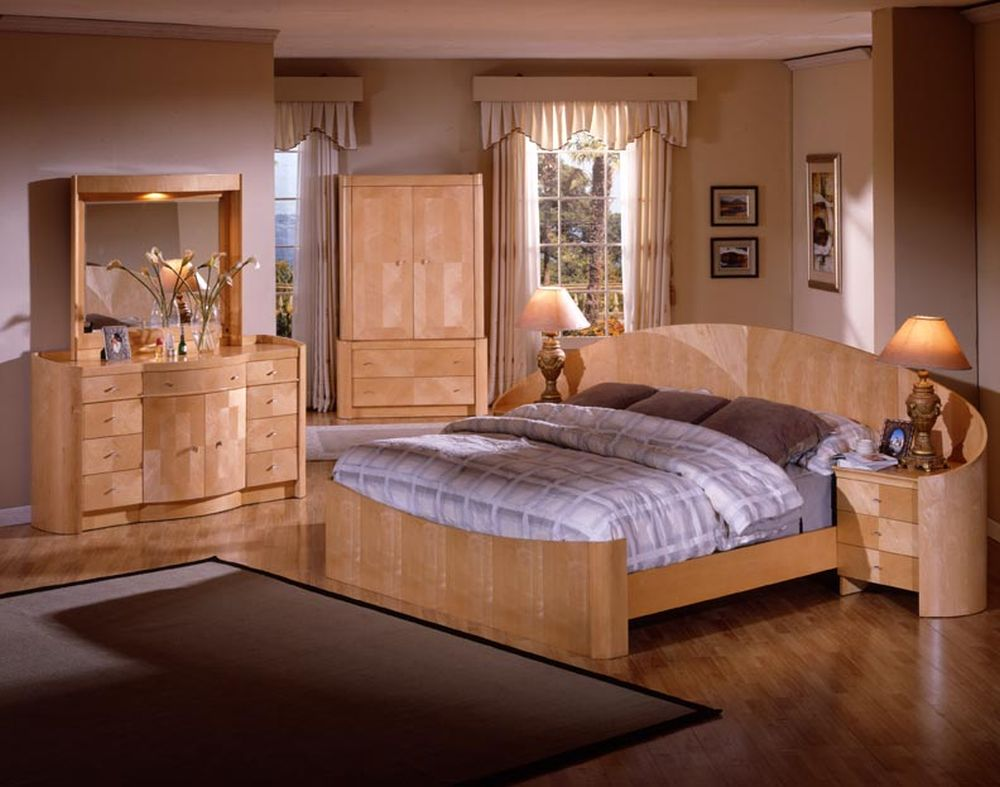awesome unfinished contemporary bedroom furniture set with light brown palette and integrated bedside astounding alternative for bedroom design: unfinished bedroom furniture