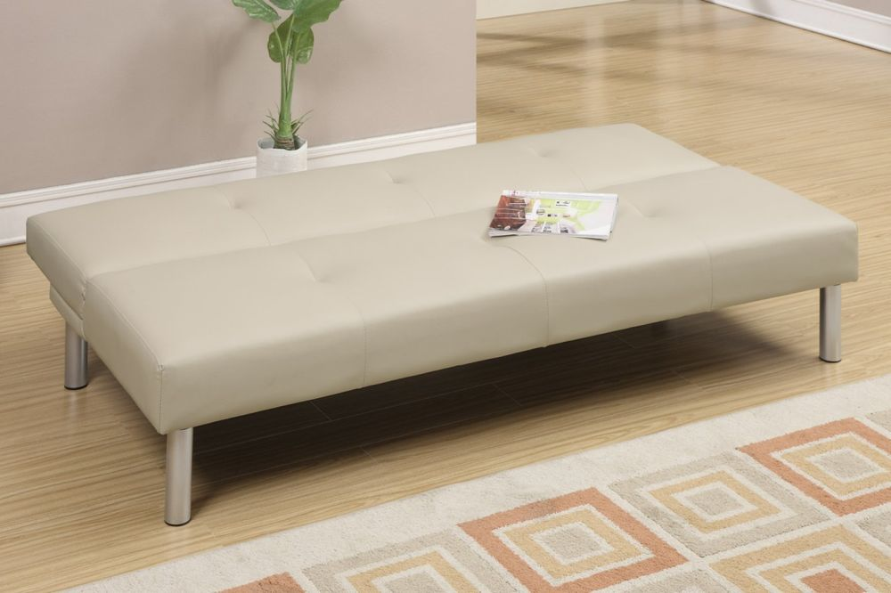catchy rectangle white sofa bed which is can transform it become the futon sofa with backrest using modern twin size sofa bed ideas for surprising creative space