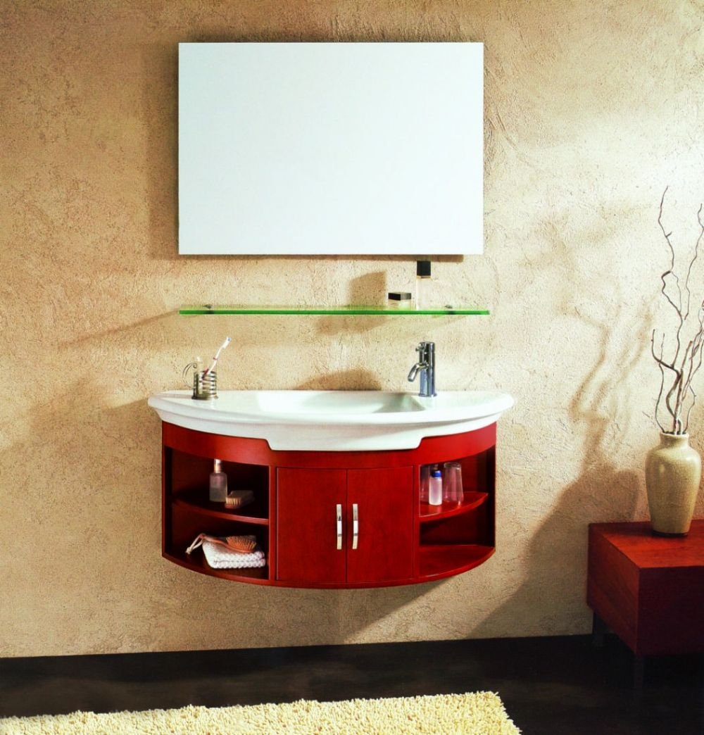 curved wall mount bathroom vanity with storage and white sink wall mounted bathroom sink for better bathroom design