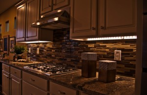 cutting edge led lights with excellent glossed creamy wood cupboards cool under counter lights for spellbind kitchen décor