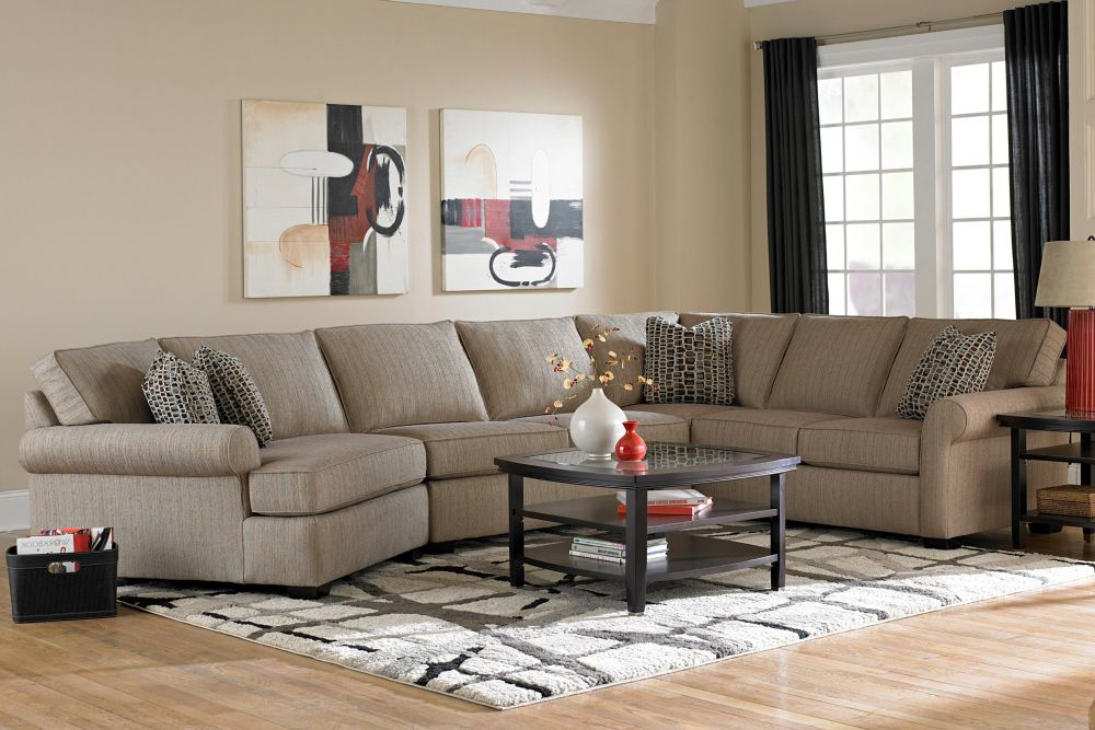 thomasville sectional sofa exhibit exclusiveness and luxury homes furniture ideas. Black Bedroom Furniture Sets. Home Design Ideas