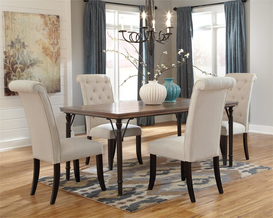 white upholstered dining chairs with sleigh tufted backrest and rustic industrial table splendid tufted dining room chairs keeping the favorable atmosphere