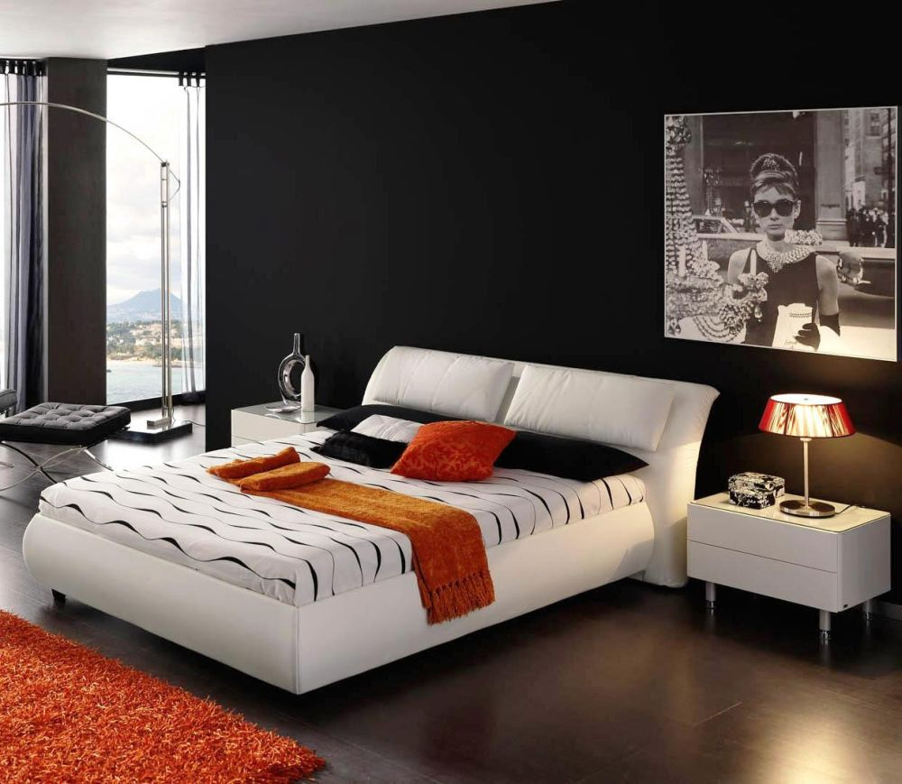 black bedroom color with wonderful view for boy with tranquil and cold sense discovering the answer of what color should i paint my bedroom easily