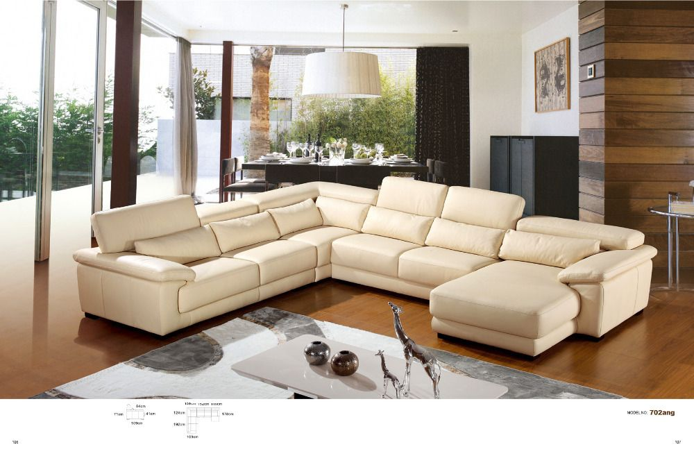 contemporary living room with u shaped white microfiber sectional sofa creating warm soul for everyone with u shaped sectional sofa