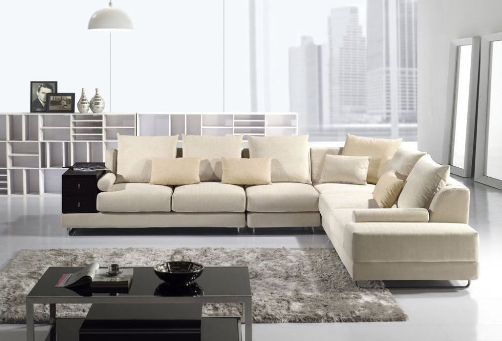 cool creamy sofa design with low back and sectional style it showcases luxury style and exclusiveness low back sofa design – new style for good interior design