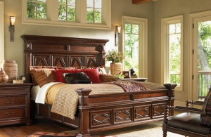 elegant lexington bedroom furniture sets in dark brown finish with multiple windows as natural lights entrancing lexington furniture set for bedroom design