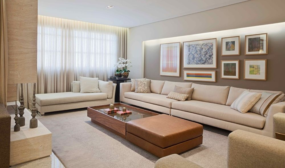 glass coffee table for extra long couch in white tone presenting best interior design with extra long sofa
