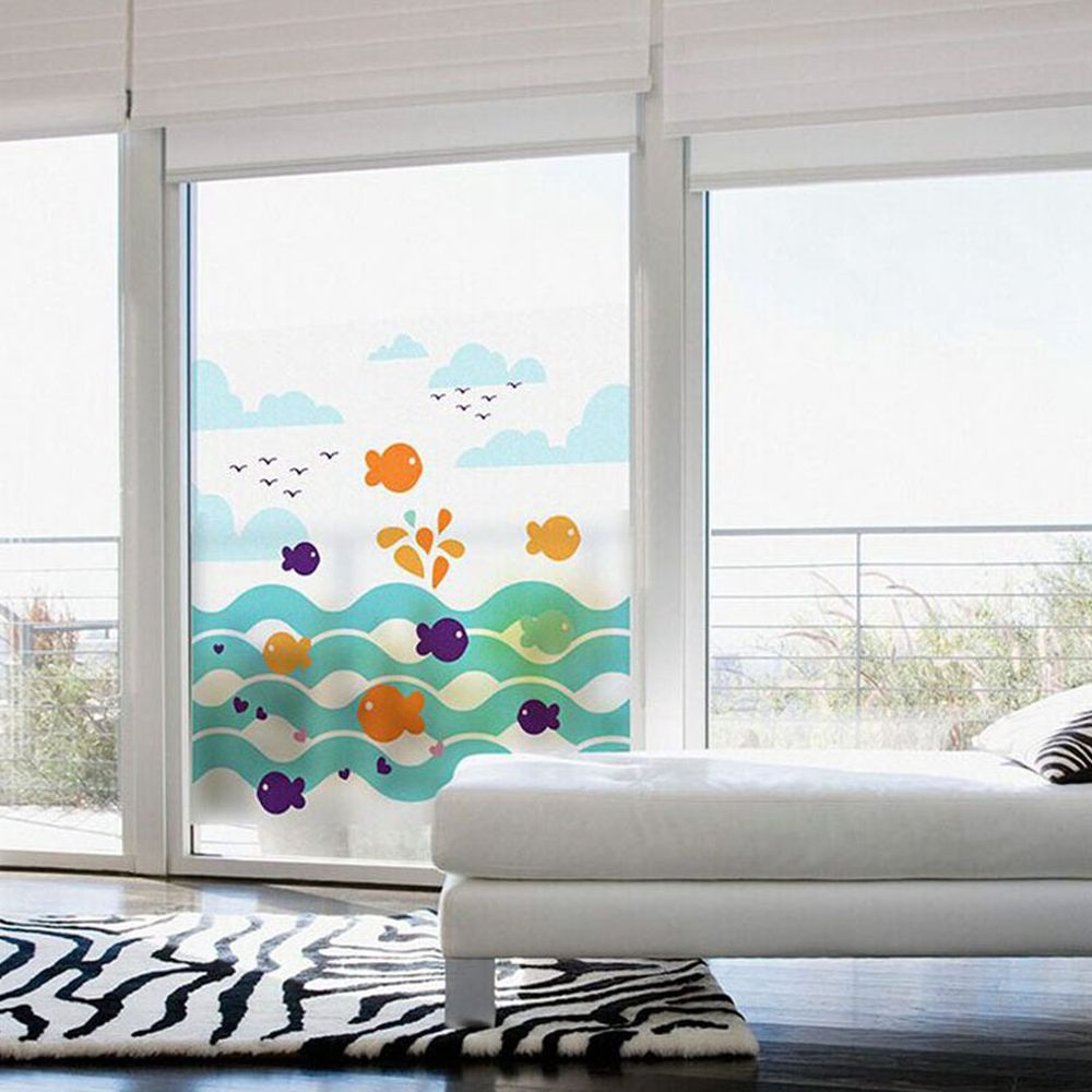 Sliding Glass Windows with White Window Frames that Suitable to Allow Sunshine to Come Inside