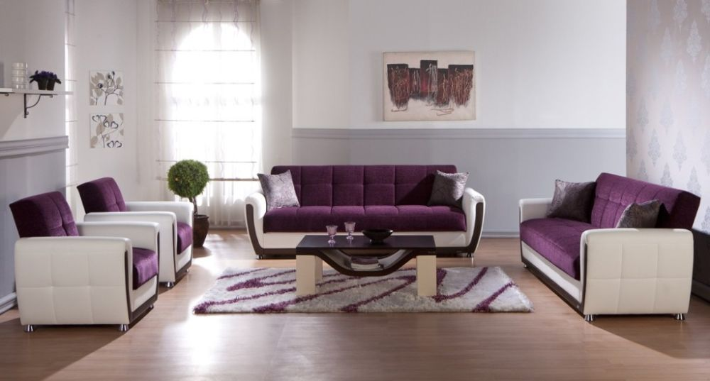 trendy neutral living room with white and grey wall colors plus stunning white purple furniture sets purple living room furniture coming with calming sense