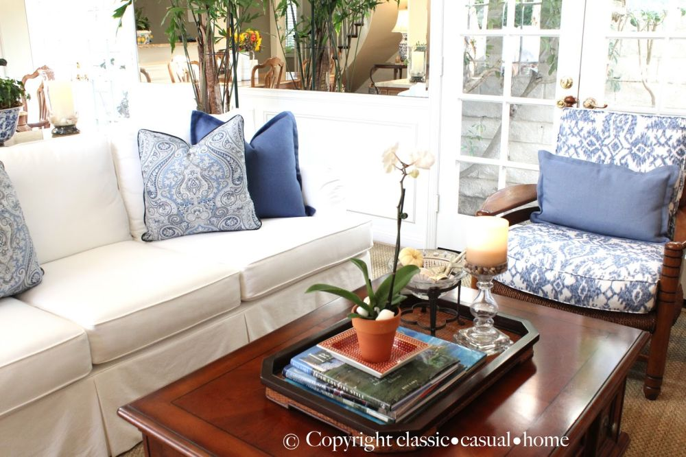 white slipcovered sofas and chairs with floral pattern pillow astounding white slipcovered sofa for various living room design