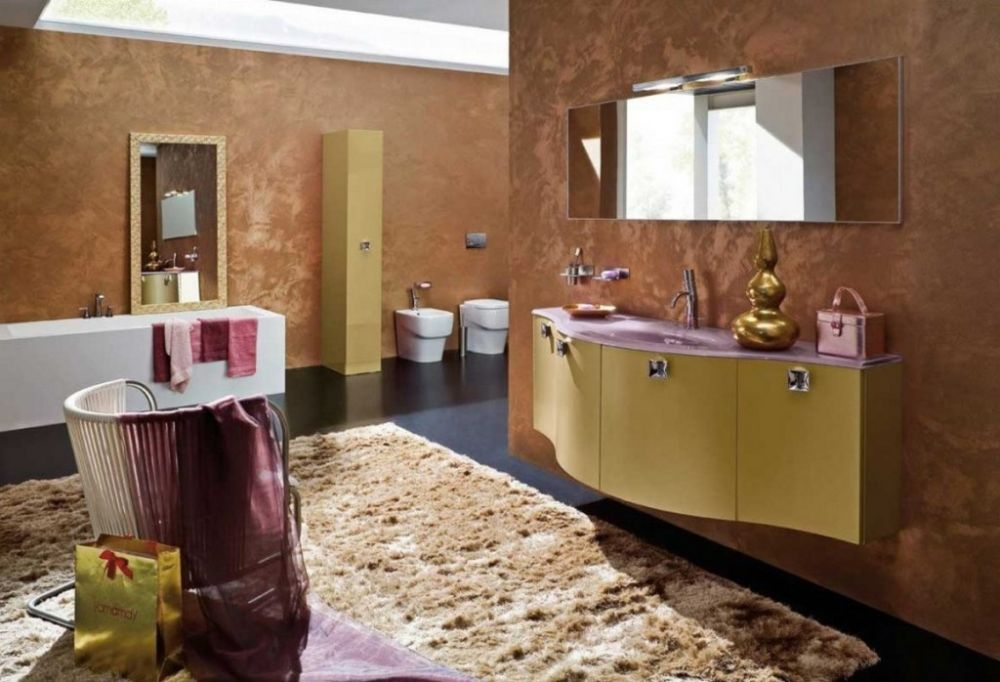animal print faux area rug in the vibe adding large bathroom rugs for wide and posh interior look