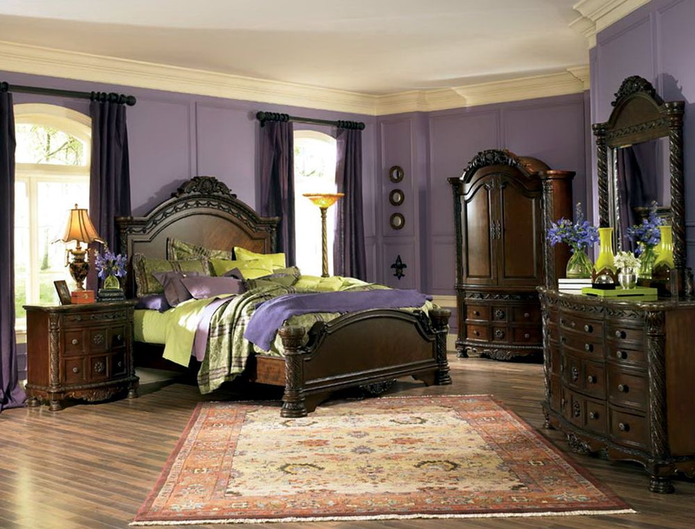 ashley north shore king sleigh bedroom set opulent north shore bedroom sets furniture