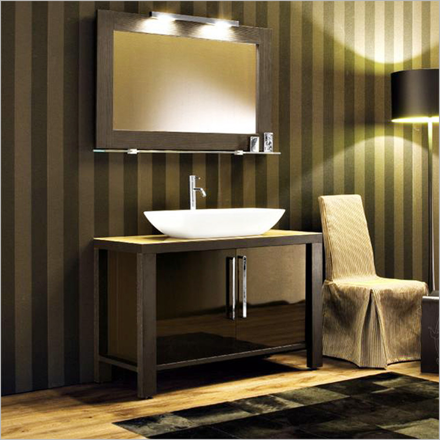 simple lighting bars with black drum shade touches the bathroom with antique and distinctive lighting style the effect of luxury from bathroom light bars