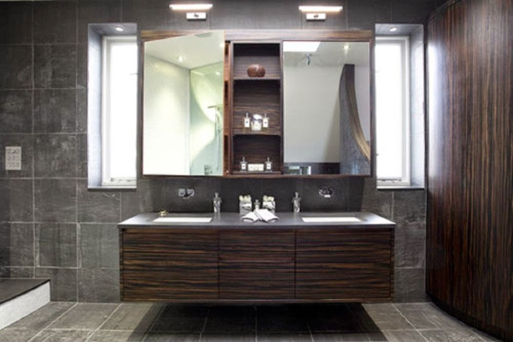 simplest design of the bathroom vanity in brown tone by menards with double mirrors menards bathroom vanities with everything that you can apply at home