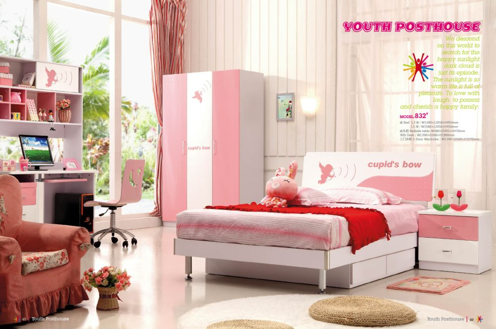 splendid youth bedroom set idea with lovely pink closet in the corner and modern bed with bottom trundle mesmerizing youth bedroom sets images