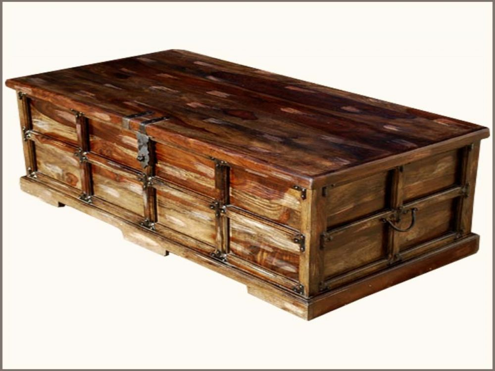 beaufort steamer storage trunk rustic coffee table chest top products of steamer trunk coffee table