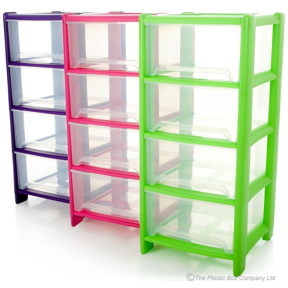 Reasons For Using Plastic Drawers For Clothes Homes