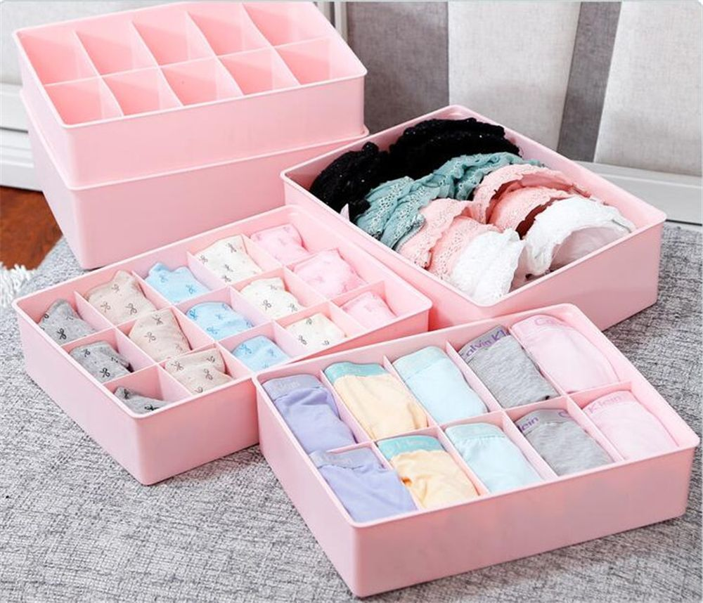 plastic 15 slots compartment adjustable jewelry necklace clear storage box case holder craft organizer reasons for using plastic drawers for clothes