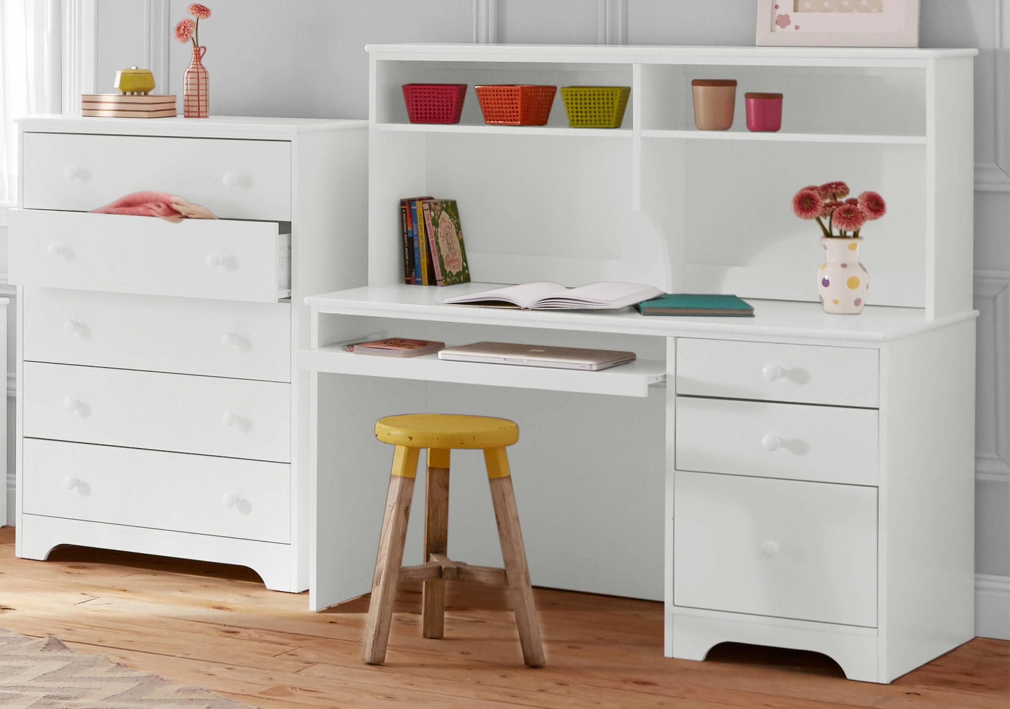better homes and gardens kids pine creek desk - white buying child desks from walmart better home and garden