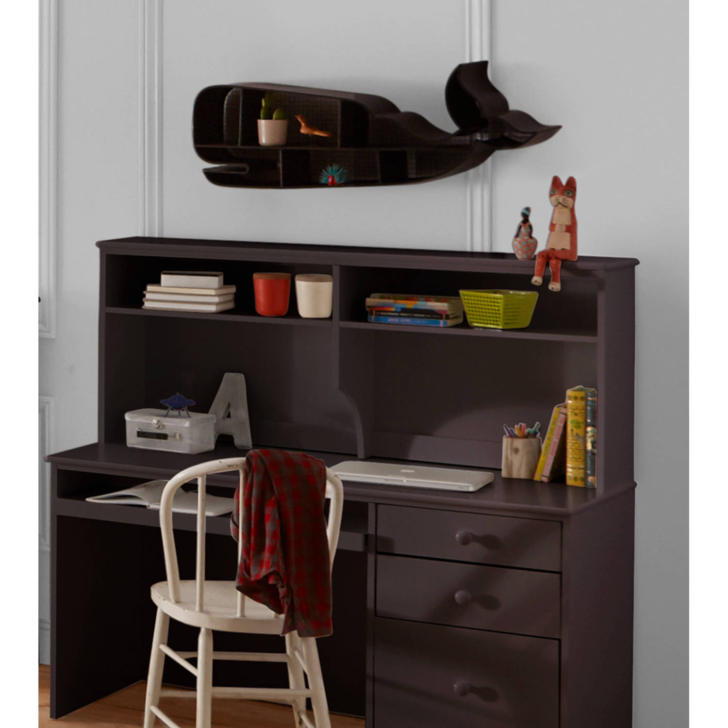 better homes and gardens kids pine creek hutch, espresso buying child desks from walmart better home and garden