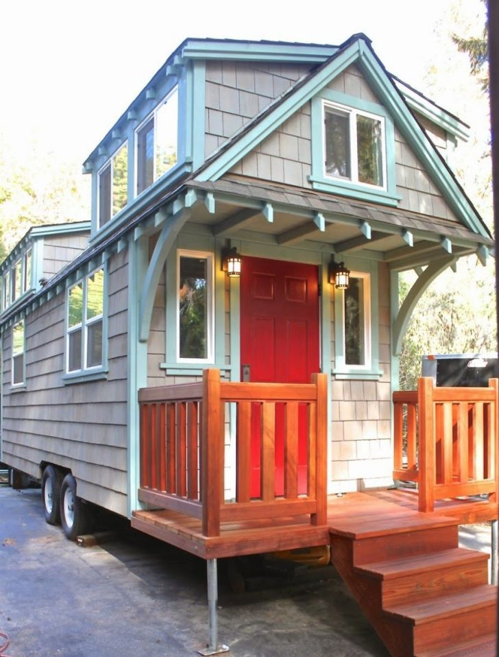 craftsman style bungalow design by molecule tiny home living in small homes by molecule tiny homes