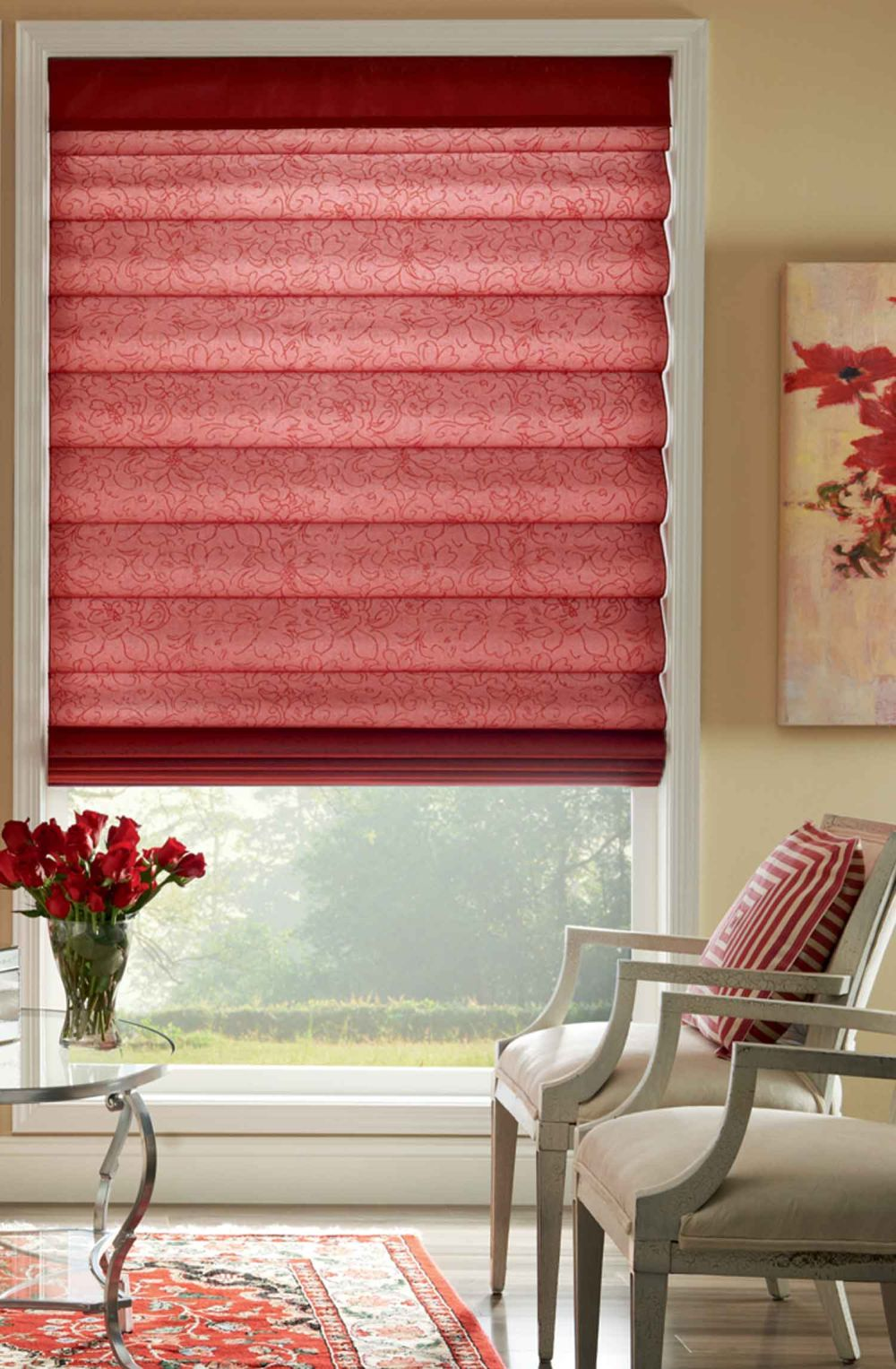 luxury red bali roman shades bali cellular shades product details